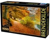 Puzzle Jesienna leśna dróżka