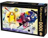 Puzzle Żółta, czerwona, niebieska