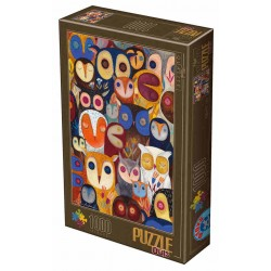 Puzzle Sowy
