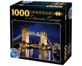 Puzzle Tower Bridge w nocy