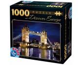 Puzzle Tower Bridge w nocy