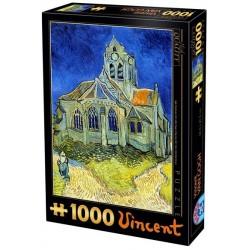 Puzzle Kościół w Auvers