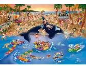 Puzzle Występ na plaży