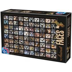 Puzzle Kolaż - sowy