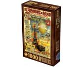 Puzzle Plakat Paryż