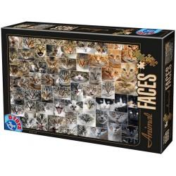 Puzzle Kolaż - koty