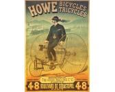 Puzzle Plakat - rower