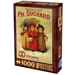 Puzzle Plakat Chocolat Ph. Suchard