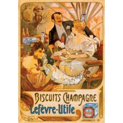 Puzzle Plakat Biscuitis Champagne