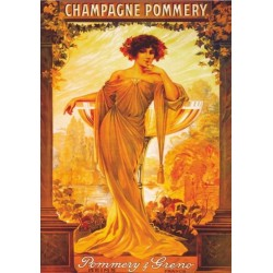 Puzzle Plakat - Champagne Pommery