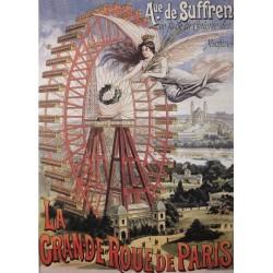 Puzzle Diabelskie kolo w Paryżu