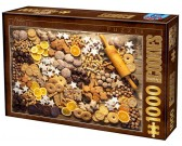 Puzzle Bożonarodzeniowe słodkości