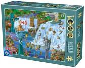 Puzzle Wodospad Niagara