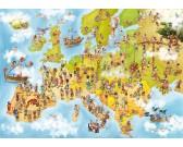 Puzzle Mapa Europy
