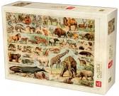 Puzzle Encyklopedia zwierząt