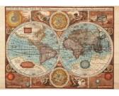 Puzzle Mapa świata z roku 1626