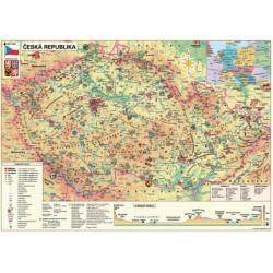 Puzzle Mapa Czech