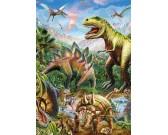 Puzzle Świat dinozaurów - ŠWIECĄCE PUZZLE
