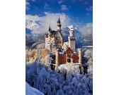 Puzzle Zamek Neuschwanstein w zimie