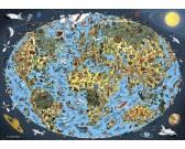 Puzzle Rysunek mapy
