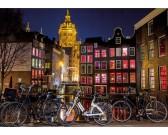 Puzzle Nocny Amsterdam - ŚWIECĄCE PUZZLE