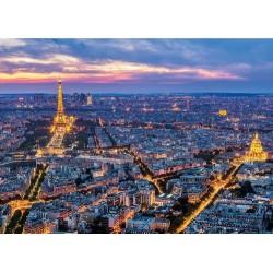 Puzzle Paryż nocą - PUZZLE ŚWIECĄCE PUZZLE