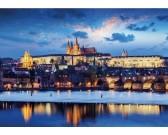 Puzzle Zamek w Pradze - PUZZLE ŚWIECĄCE