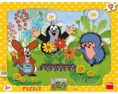 Puzzle Krecik ogrodnik - PUZZLE DLA DZIECI