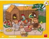 Puzzle Kury - PUZZLE DLA DZIECI