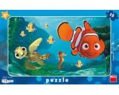 Puzzle Nemo i żółw - PUZZLE DLA DZIECI