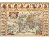 Puzzle Historyczna mapa świata