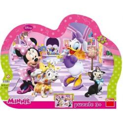 Puzzle Myszka Minnie i zwierzaki - PUZZLE DLA DZIECI