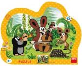 Puzzle Krecik muzyk - PUZZLE DLA DZIECI