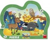 Puzzle Zwierzęta leśne - PUZZLE DLA DZIECI