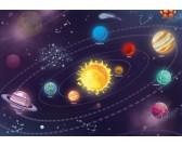 Puzzle Układ słoneczny dla dzieci - PUZZLE DLA DZIECI