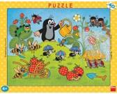 Puzzle Krecik i truskawki - PUZZLE DLA DZIECI
