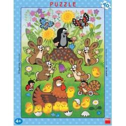 Puzzle Krecik i Wielkanoc - PUZZLE DLA DZIECI