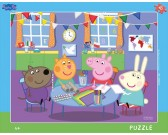 Puzzle Prosiątko Pepa - w przedszkolu - PUZZLE DLA DZIECI