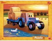 Puzzle Zetor: żniwa - PUZZLE DLA DZIECI