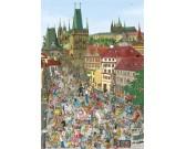 Puzzle Most Karola w Pradze