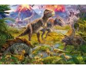 Puzzle Spotkanie dinozaurów