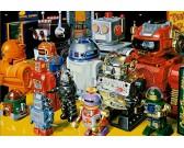 Puzzle Roboty