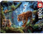 Puzzle Tygrysy na drzewie