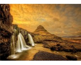 Puzzle Wodospad Kirkjufellsfoss, Islandia