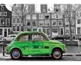 Puzzle Samochód w Amsterdamie