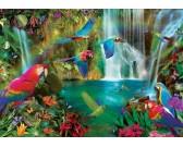 Puzzle Papugi tropikalne