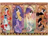 Puzzle Japoński kolaż