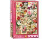 Puzzle Malowane róże