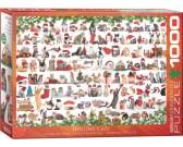 Puzzle Bożonarodzeniowe kociaki