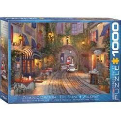 Puzzle Francuska ulica